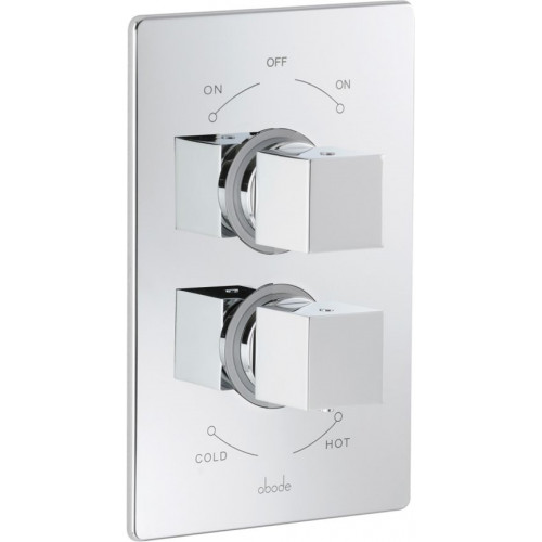 Zeal Concealed 2-Part Thermostatic Shower Mixer