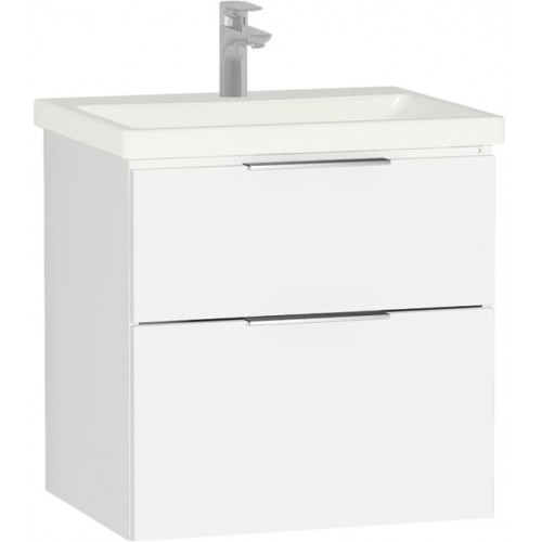 Ecora 60cm 2 Drawer Washbasin Unit