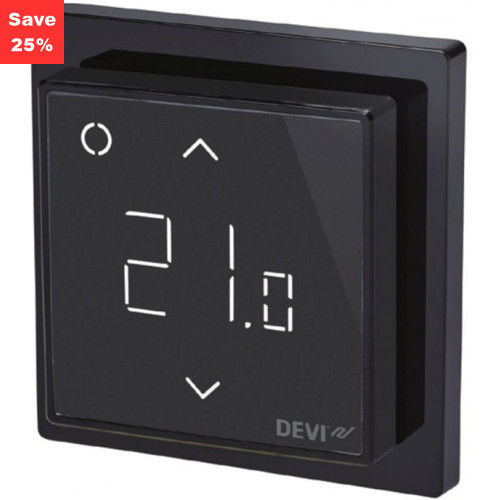 Origins - Fire Opal Smart Thermostat (Black)