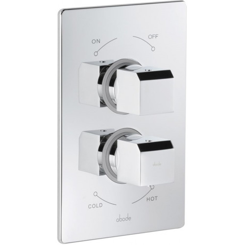 Abode - Extase Concealed Thermo Shower Mixer - 1 Exit
