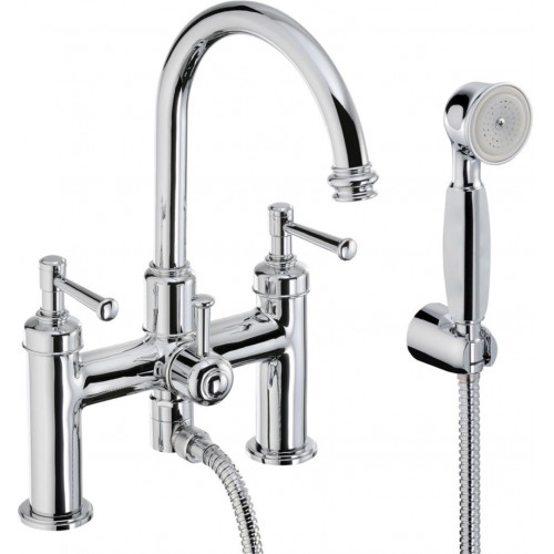Abode - Gallant Deck Mounted Bath Shower Mixer