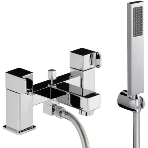 Abode - Rapport Deck Mounted Bath Shower Mixer