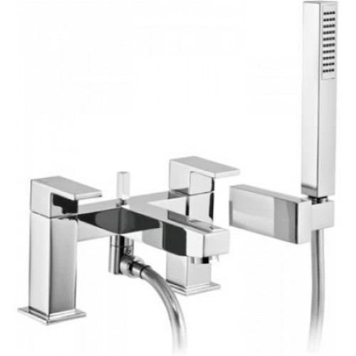 Abode - Cento Deck Mounted Bath Shower Mixer