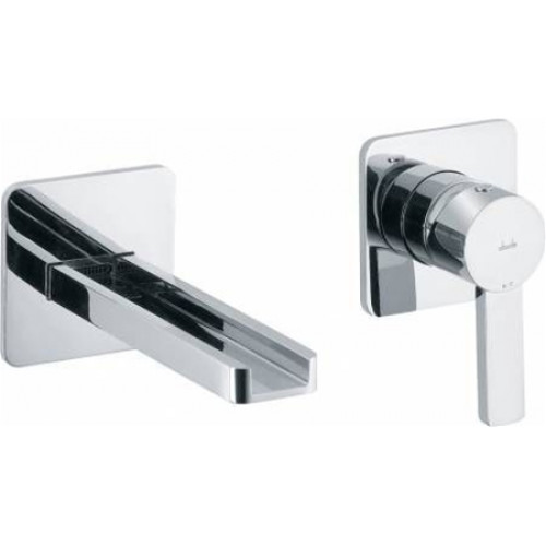 Abode - Modo Wall Mounted 2 Hole Bath Mixer