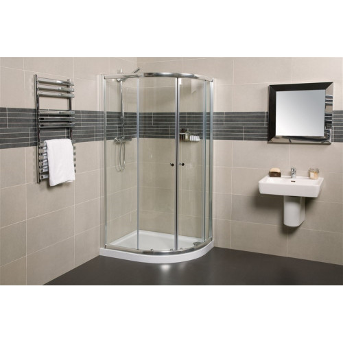Wellspring1200 x 900mm Offset Quadrant Shower Enclosure