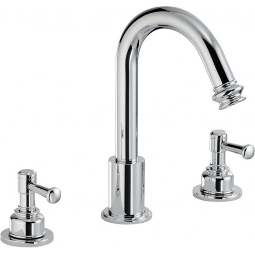 Abode - Gallant Deck Mounted 3 Hole Basin Mixer