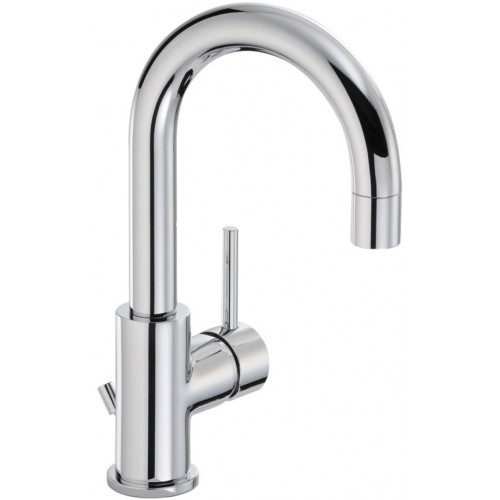 Harmonie Side Lever Monobloc Basin Mixer With Pop-Up Waste