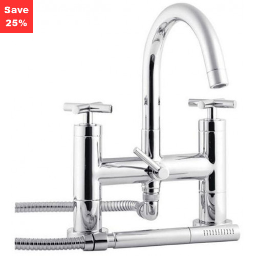 Sunstone Deck Mounted Bath Shower Mixer Tap