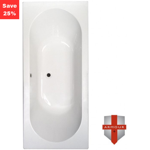 Citrine 1 Double Ended Bath - 1800 x 800mm
