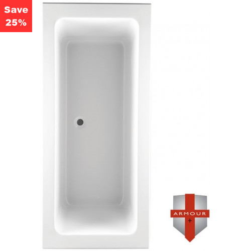 Citrine 2 Square Bath - 1800 x 800mm