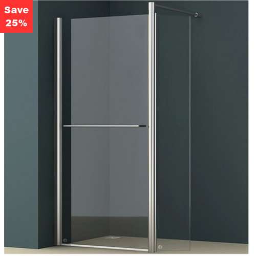 Amber 700mm Pivot Walk-In Shower Screen