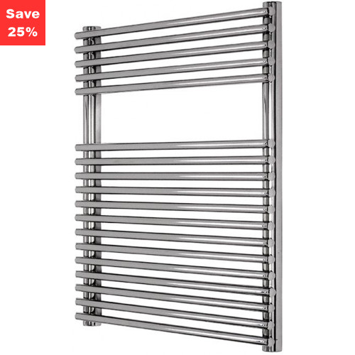 Helenite Chrome Radiator - 840 x 600mm
