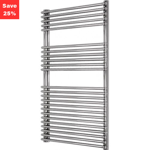 Helenite Chrome Radiator - 1250 x 600mm
