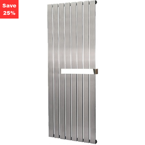 Aventurine Brushed Steel Radiator - 1400 x 550mm