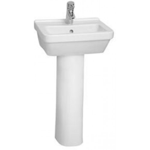 S50 Cloakroom Washbasin 45cm Square 1TH