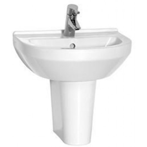 S50 Washbasin 50cm Round 1TH