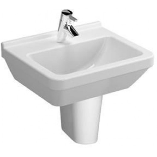 S50 Washbasin 50cm Square 1TH
