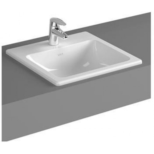 S20 Counter Basin 45cm Square 1TH