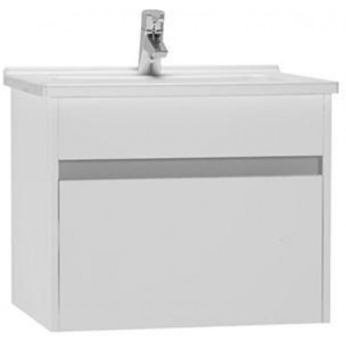 S50 Washbasin Unit 60cm Incl. Basin
