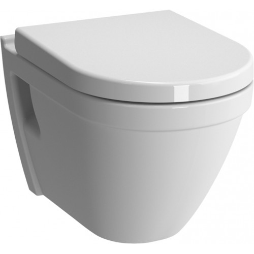 S50 Rimless Wall-Hung WC Pan