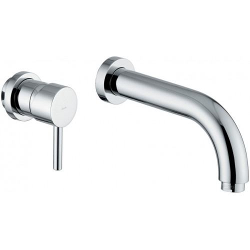 Harmonie 2 Hole Wall Mounted Basin Mixer