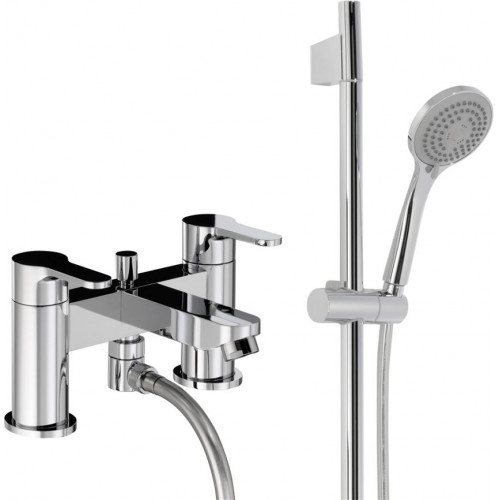 Debut Deluxe Deck Mounted Bath Shower Mixer