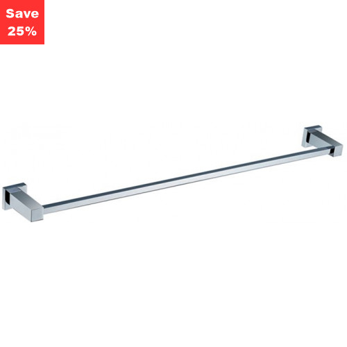 Line Towel Rail Single Chrome