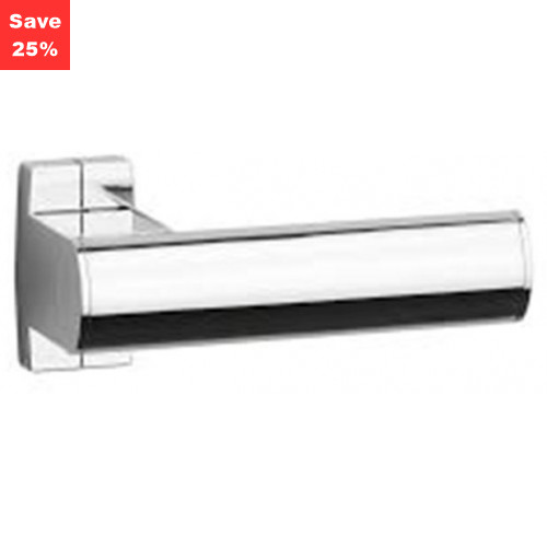 Pellet AL Arsis Toilet Roll Holder Single Bright Anodised