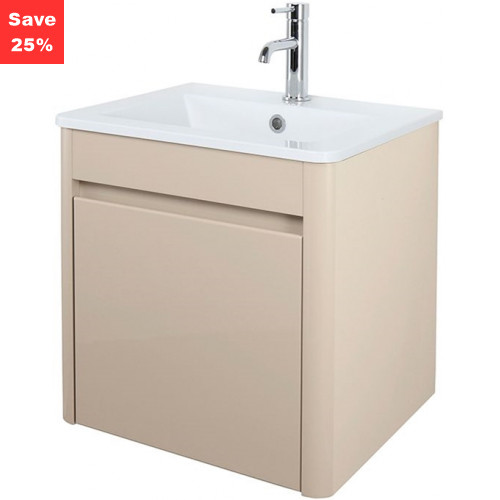 Emerald Vanity 50 Basin Unit Beige