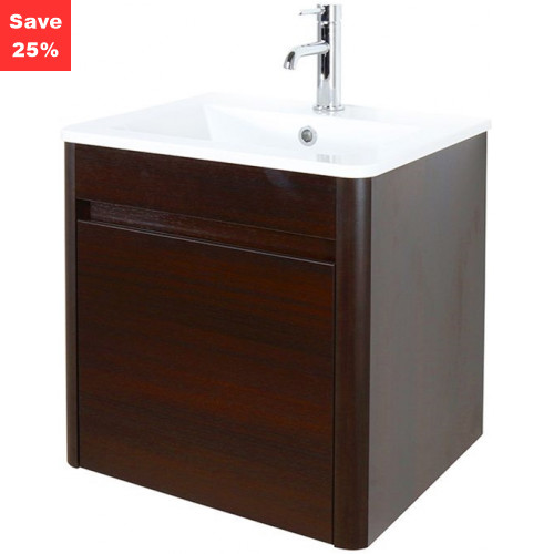 Emerald Vanity 50 Basin Unit Wenge